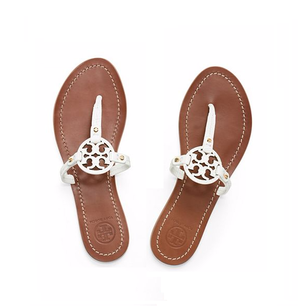 Tory Burch Mini Miller Flat Thong Sandal - Celebrities who wear .