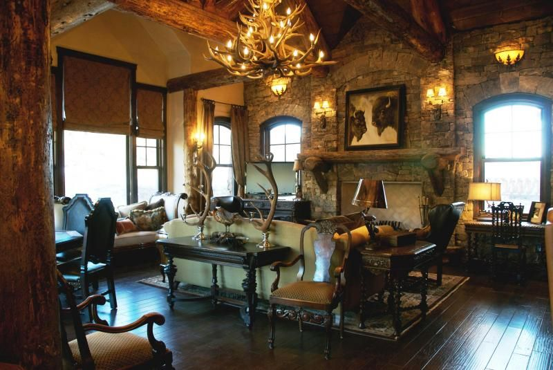 cowboy chic western interior decorating trends - Google Search ...