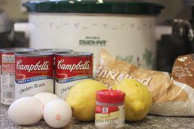 Repeat Crafter Me: Crock Pot Lemon Rice Soup