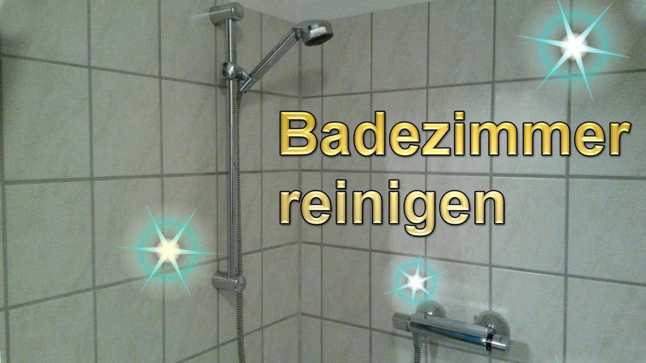 Badezimmer reinigen ~ Badezimmer putztrick bad mühelos sauber machen lifehack bad