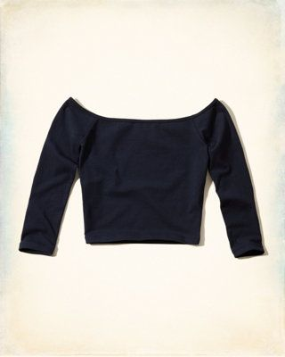 Must-Have Slim Crop Top