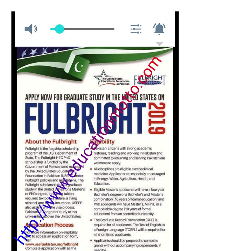 Get Info Fulbright Scholarship Application Deadline