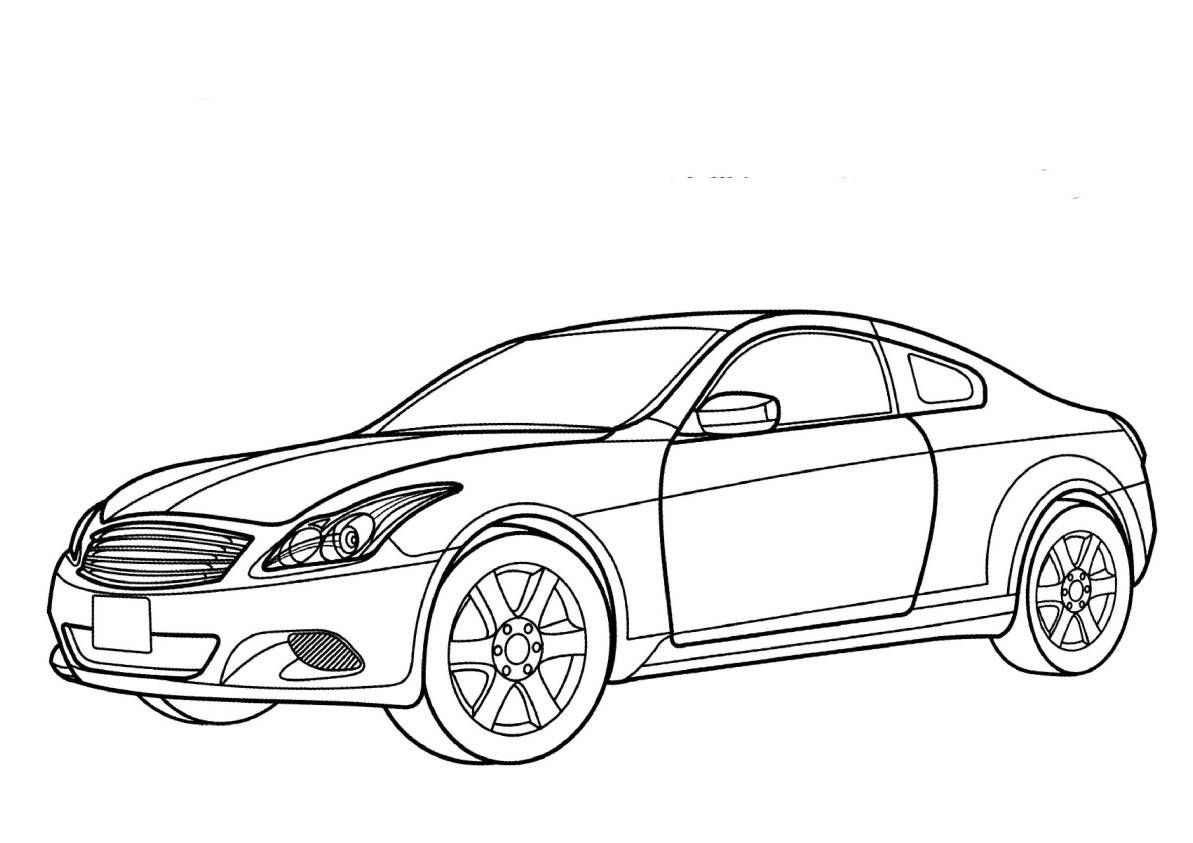 Dla Chlopcow Samochody Kolorowanki Nissan 4a Jpg 1 193 843 Pixels Cars Coloring Pages Coloring Pages Free Coloring Pages
