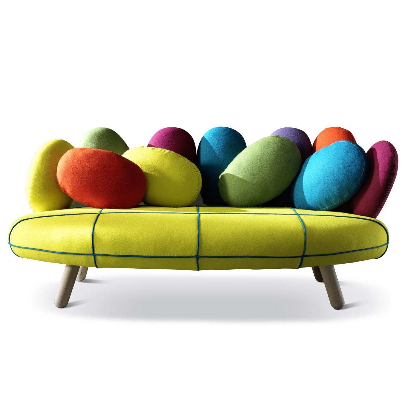 2p Sofa By Adrenalina Colourful Design Funky Lounge Furniture At My Italian Living Ltd