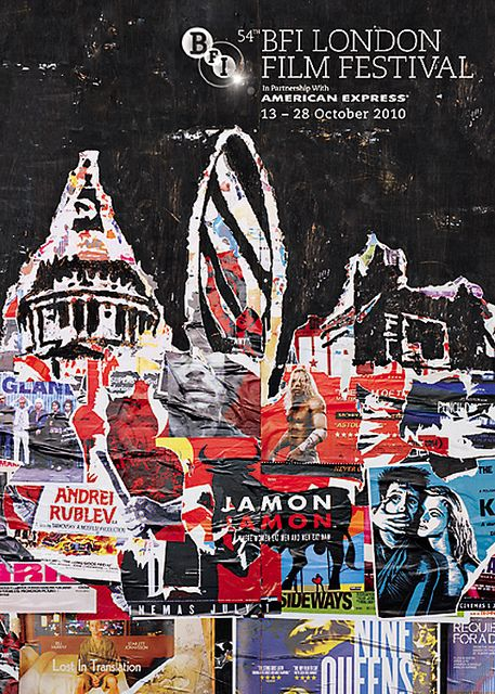 2010 London Film Festival poster (con imágenes) | Cartel ...