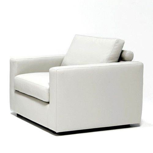 Found it at AllModern - Edward Chair/$869 33in/ looks comfy and yet a bit taylored