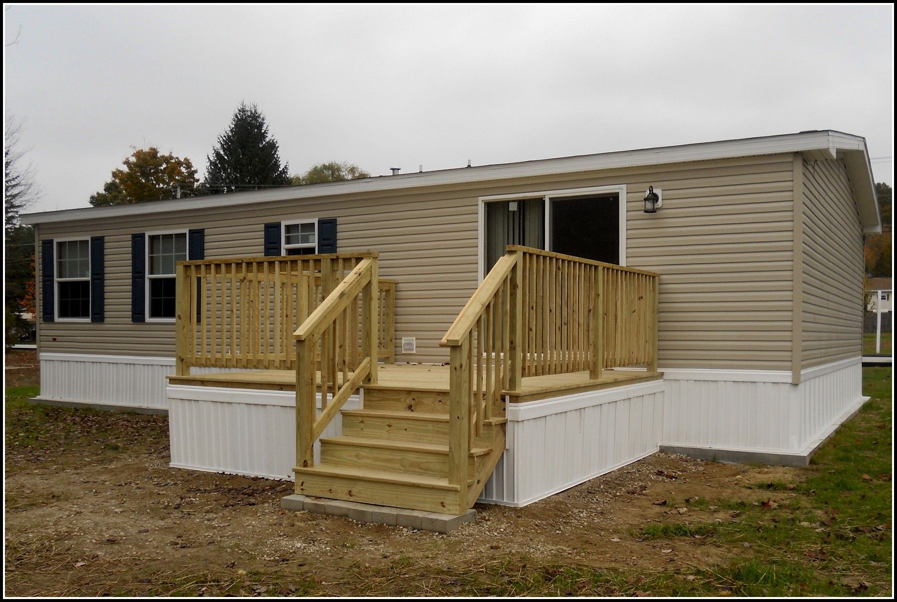 Decks And Patios For Mobile Homes Home