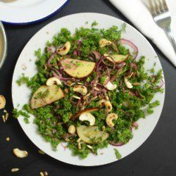 Raw Kale & Apple Salad