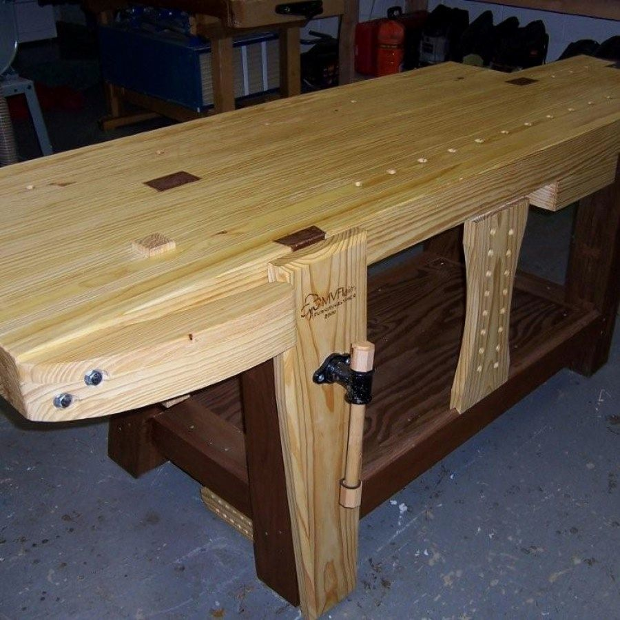 12 Woodworking Bench Ideas Designs No 717 Easy Woodworking Bench