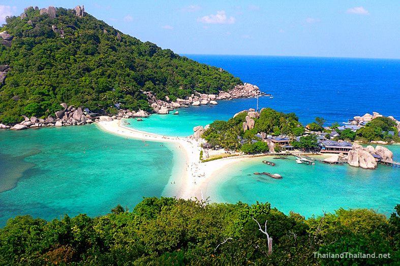 Koh Nang Yuan - Small Island off Koh Tao, Thailand  Travel  Pinterest  Tao...