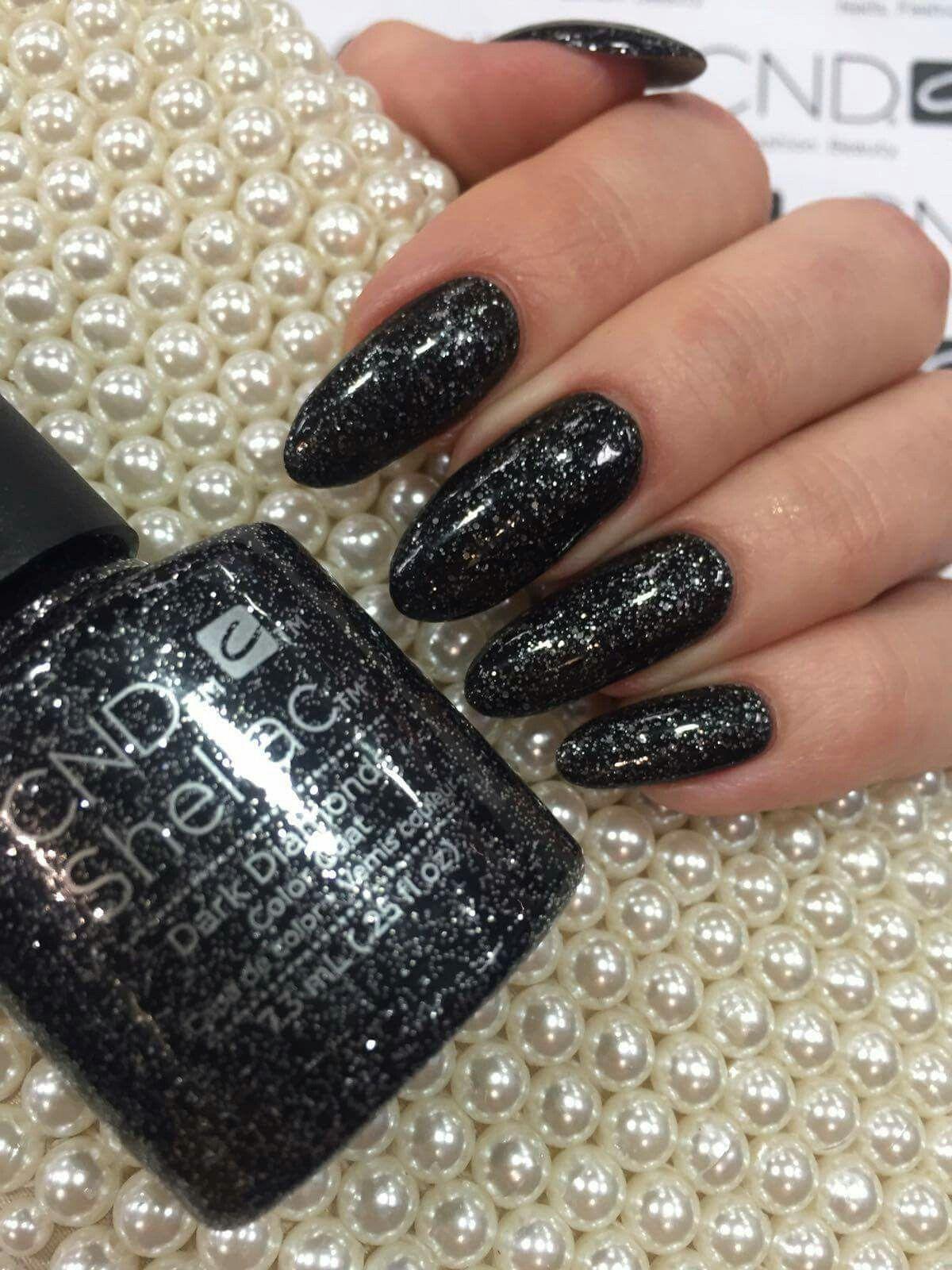 Dark Diamonds Cnd Shellac My Allll Time Fav In 2019 Shellac Nail Colors Nails Nail Colors