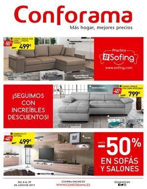 Conforama Ofertas Hasta 50 En Sofas Y Salones Conforama