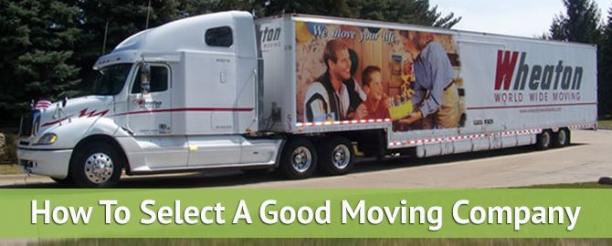 Tips For Selecting a Good Moving Company - http://ccshipping.com/tips-selecting-moving-company/