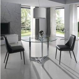 Mesa Comedor Cristal Moderna Ct2002 De Angel Cerd 225 110 Cm