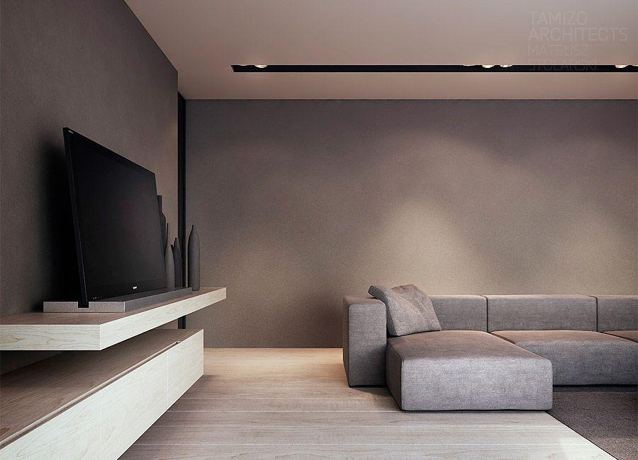Equipamiento para iluminacion living equipamiento en for Iluminacion minimalista interiores