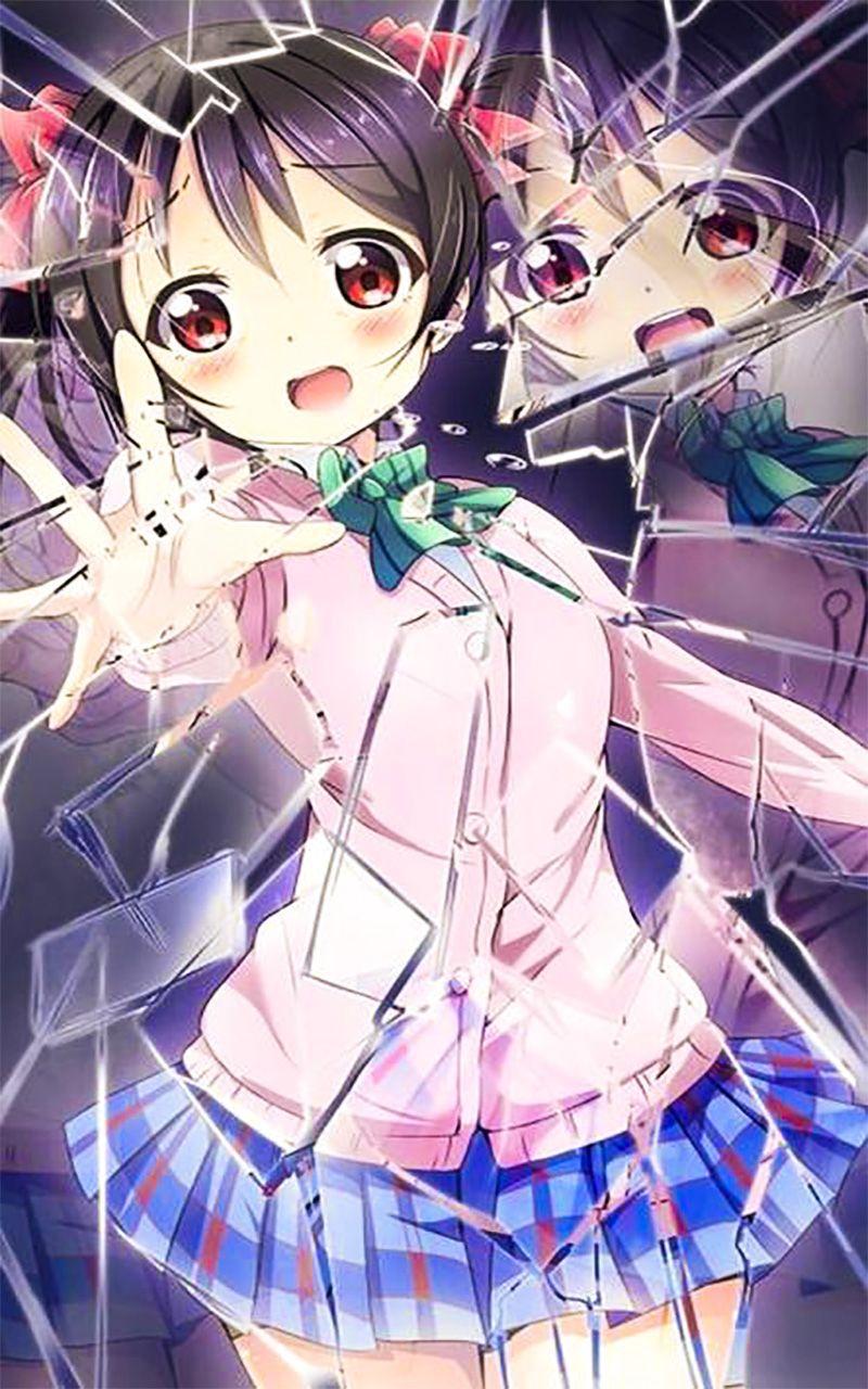Broken Wallpaper for android Fondo de pantalla de anime