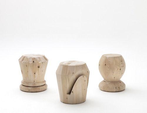 the-designcorner:  giorgio bonaguro designs chess stools for icons furniture (Designboom)