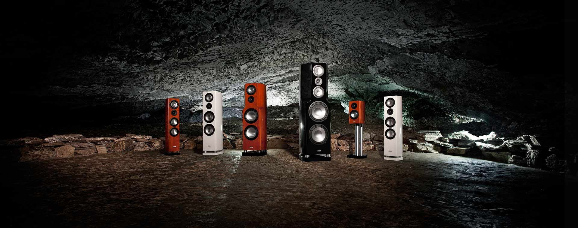 Great sound from the Canton reference line of speakers
