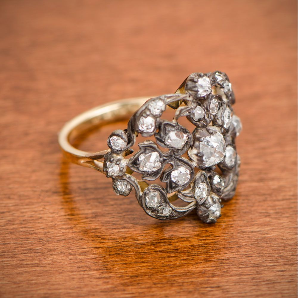 Victorian Era Engagement Ring Victorian engagement rings