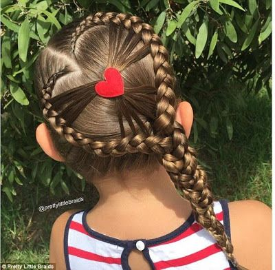 These Beautiful Hairstyles Instantly Turned 5 Year Old Girl Into An