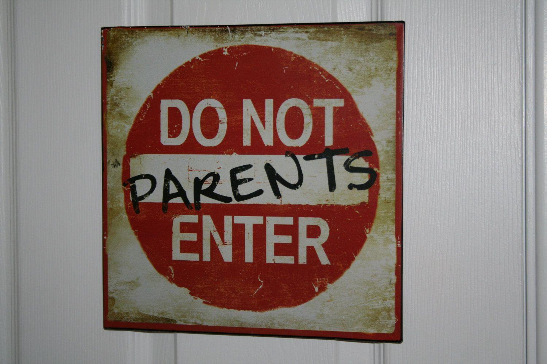 Do Not Enter Door Sign Teenagers Love It By Seeknfindcomforts 9 99 Door Signs Adolescence Metal Signs