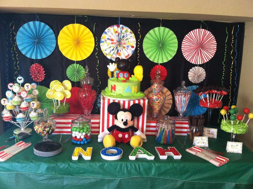 Mickey Mouse Clubhouse Birthday Party Ideas | Photo 1 of 29 | Catch My Party & Mickey Mouse Clubhouse Birthday Party Ideas | Mickey mouse clubhouse ...
