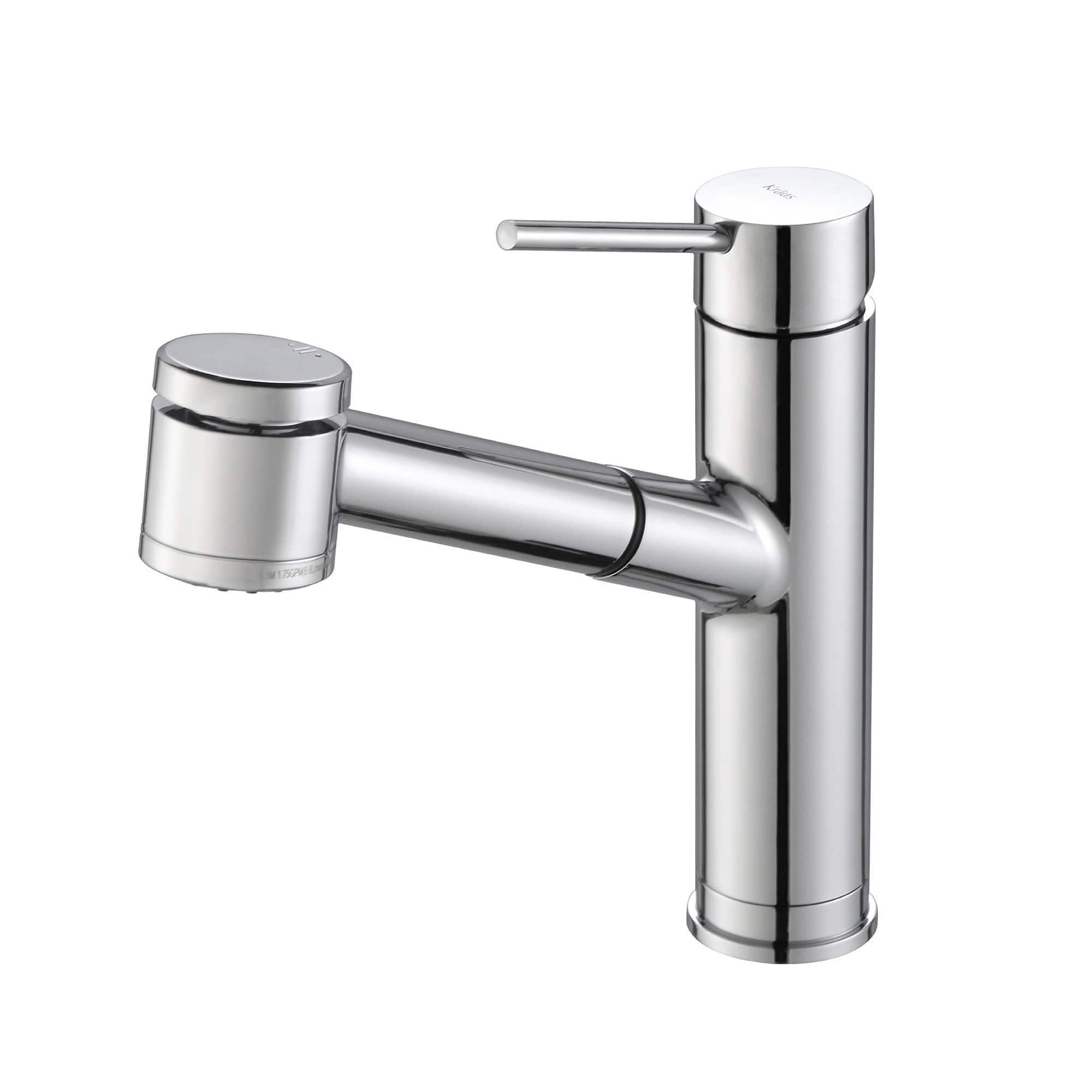 Kraus Oletto Singlehandle Kitchen Faucet With Pull Out Dual Pleasing Single Handle Kitchen Faucet Review