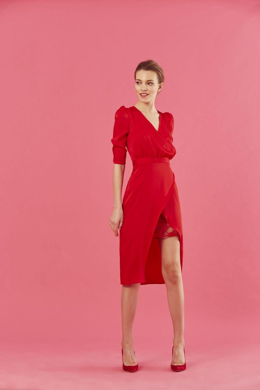 Bonito Vestido De Abrigo Dama De Bhs Elaboración - Colección de ...