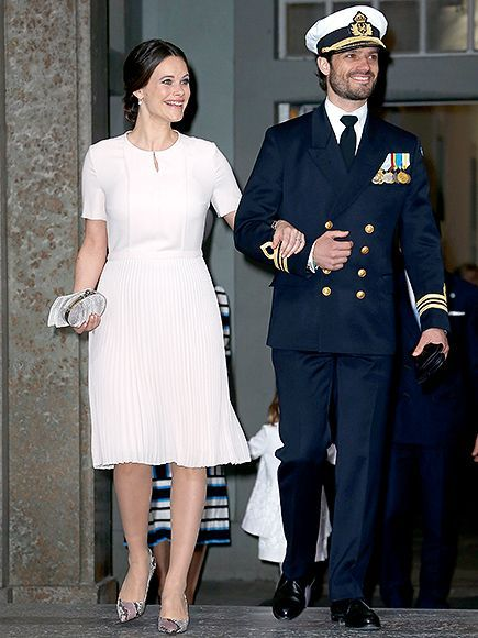 Pretty in Pink! Princess Sofia Steps Out with Prince Carl