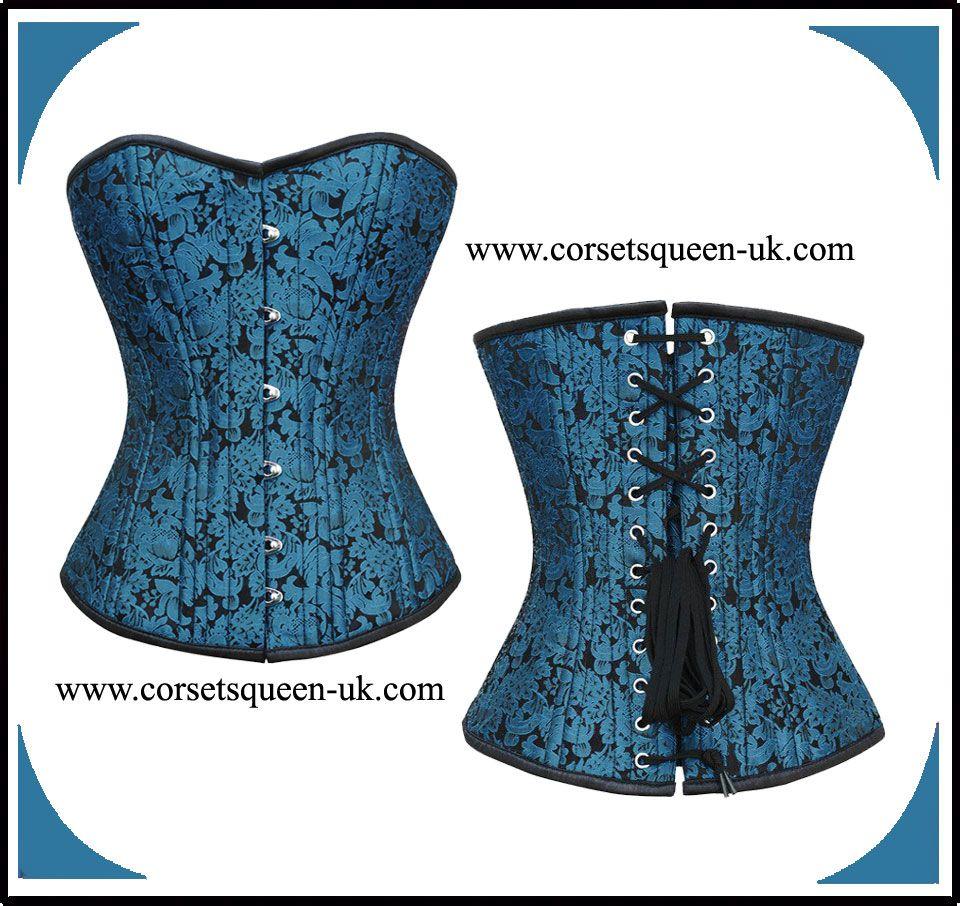 1cdbe294da Aaliyah Gothic Waist Training Corset www.corsetsqueen-uk.com Underbust  Corset