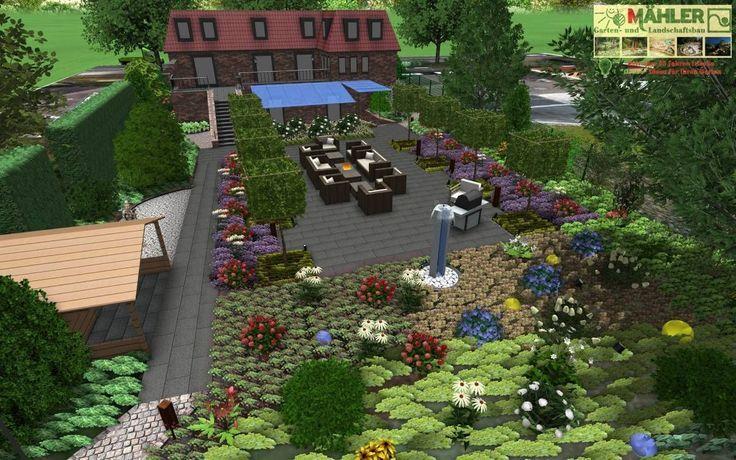 Gartenplanung D3d Gartenplanung Garten Traumgarten