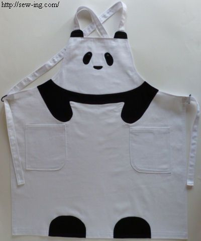 DIY Panda Apron: Phil would love