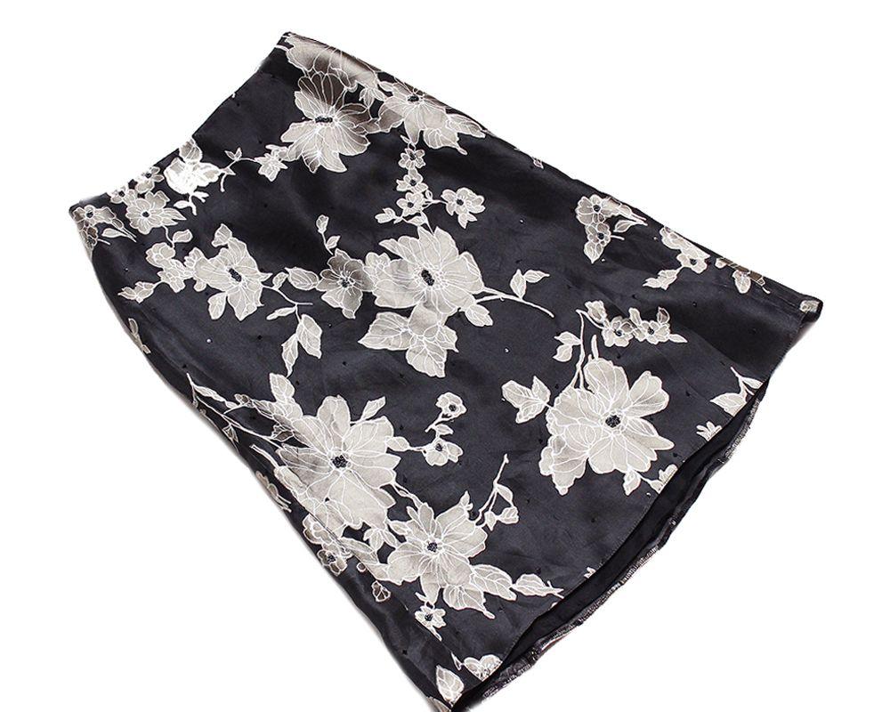 Linea Raffaelli Jedwabna Spodniczka Midi J Nowa 40 7194457903 Oficjalne Archiwum Allegro Fashion High Waisted Bikini Swimwear