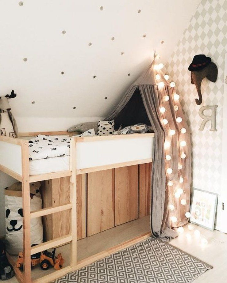 Photo of Kinderzimmer pimpen – 10 DIY Hacks für Ihr Ikea Kura Bett – Kinderzimmer – ZENIDEEN