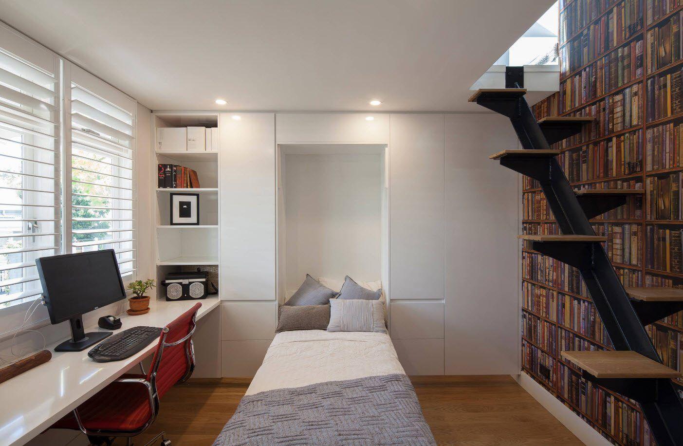 5 ideas para ganar metros con espacios multifuncionales | Habitaciones para estudiantes, Como decorar tu habitacion, Diseño de oficina en casa