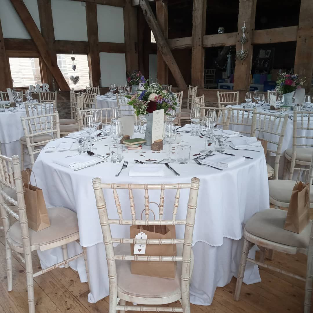 Chair Covers With Silver Grey Sashes In South Wales By Www Affinityeventdecorators Com Wedding Table Settings Fairy Light Backdrops Light Backdrop