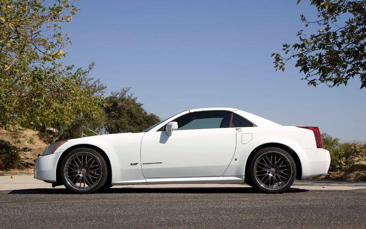 Custom Cadillac Xlr White