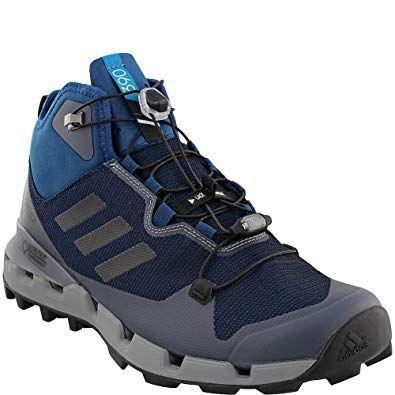 adidas outdoor Botas Terrex Fast GTX Surround Mid Hiking Botas outdoor – Hombre Azul 7d7dbd