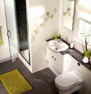 Baños modernos en espacios pequeños | Mini Bathrooms | Pinterest ...