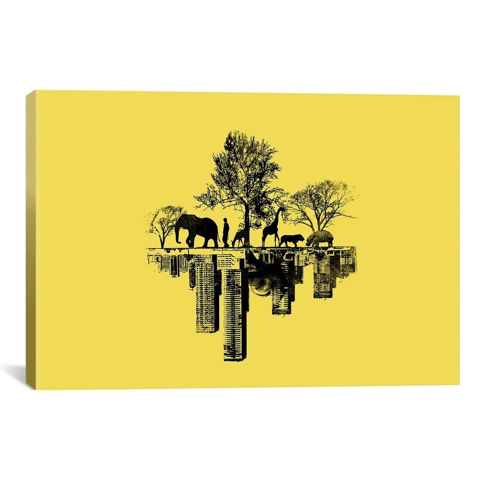 iCanvas Budi Satria Kwan Duality Canvas Print Wall Art - Overstock ...