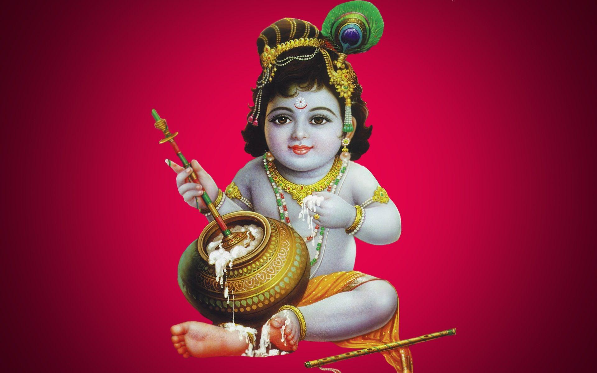 God Hd Wallpapers Baby Krishna Hd Wallpaper Krishna