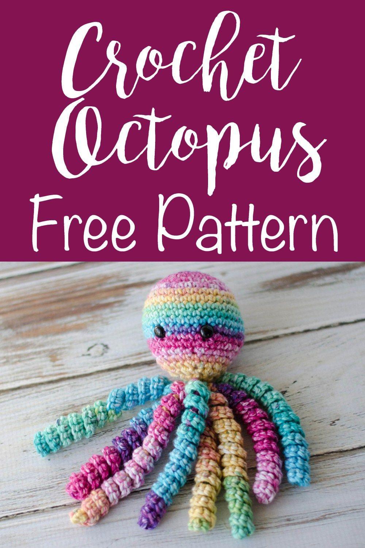 Crochet An Octopus For Preemies | Juguetes para gatos, Juguetes y ...