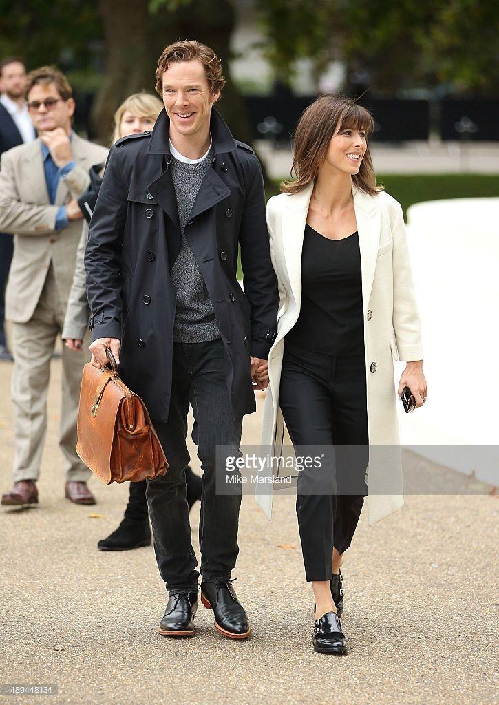 ニュース写真 : Benedict Cumberbatch and Sophie Hunter attend the...