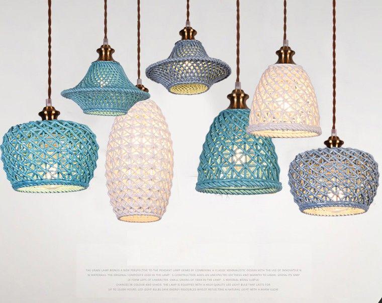 Photo of modern style led E27 classical ceramics pendant lamp