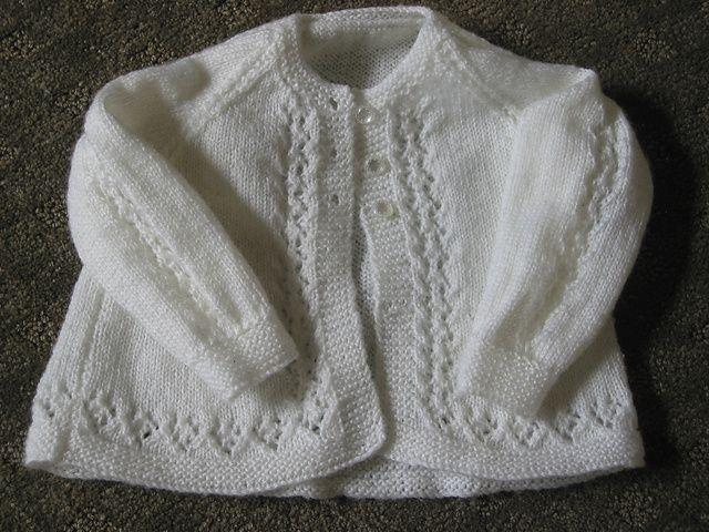 Ravelry: Beauty Baby Cardigan -Free pattern by Patons ...