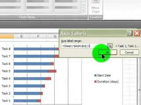 Gantt Chart using Microsoft Excel Office Pinterest Microsoft - excel spreadsheet gantt chart template