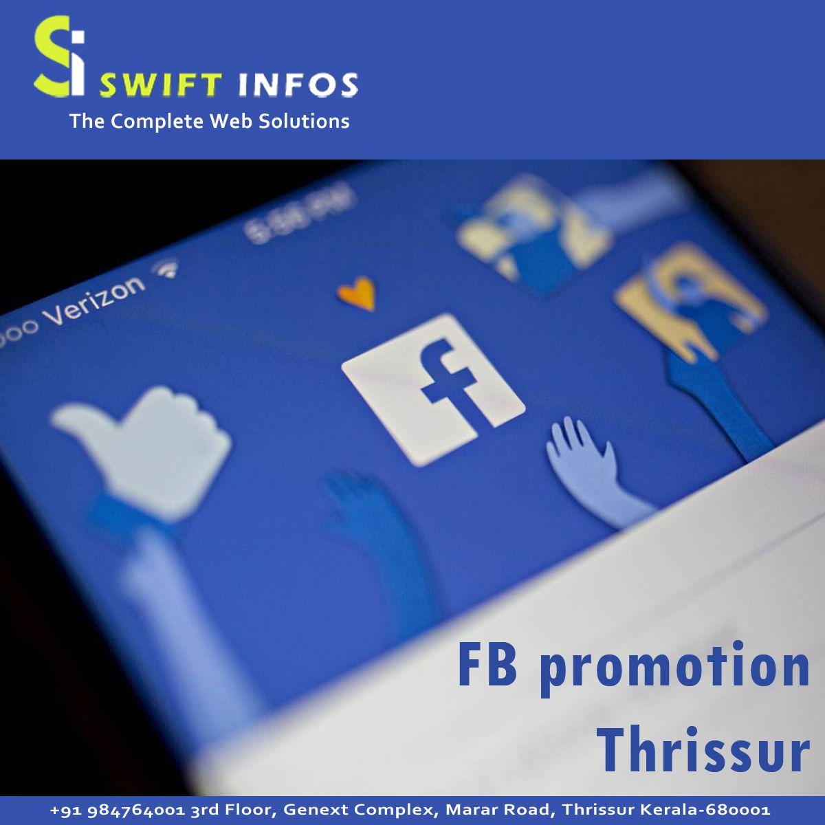 Do You Use Facebook For Business Helping Your Business By Promoting Your Facebookbusinesspage Swi Facebook Business Social Media Optimization Web Design