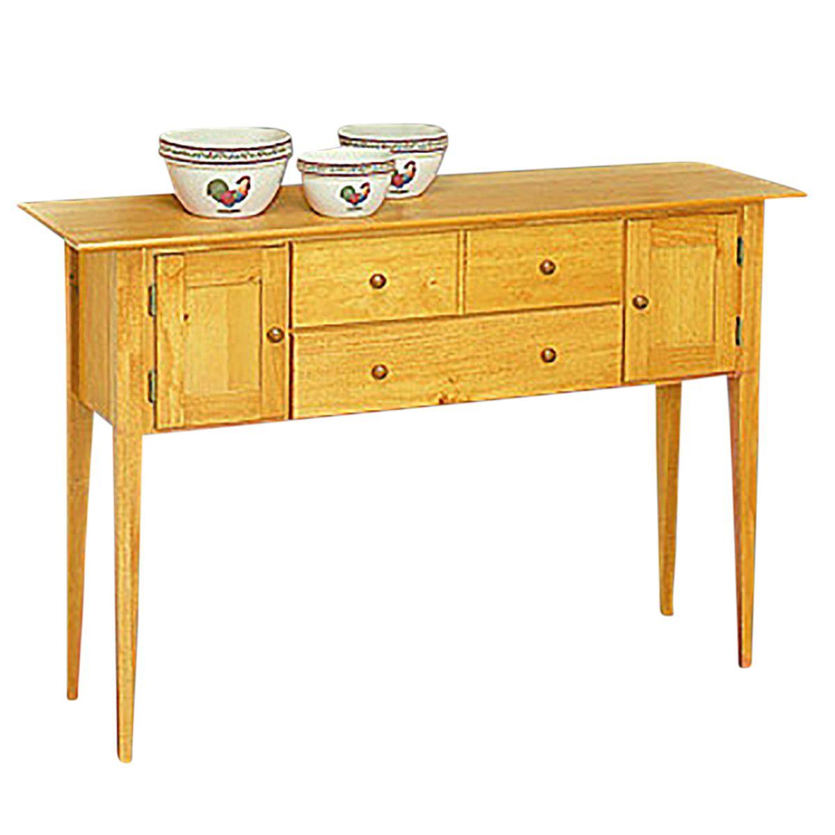 Sideboards Honey Pine 56 Sideboard Side Cabinet Cabinet