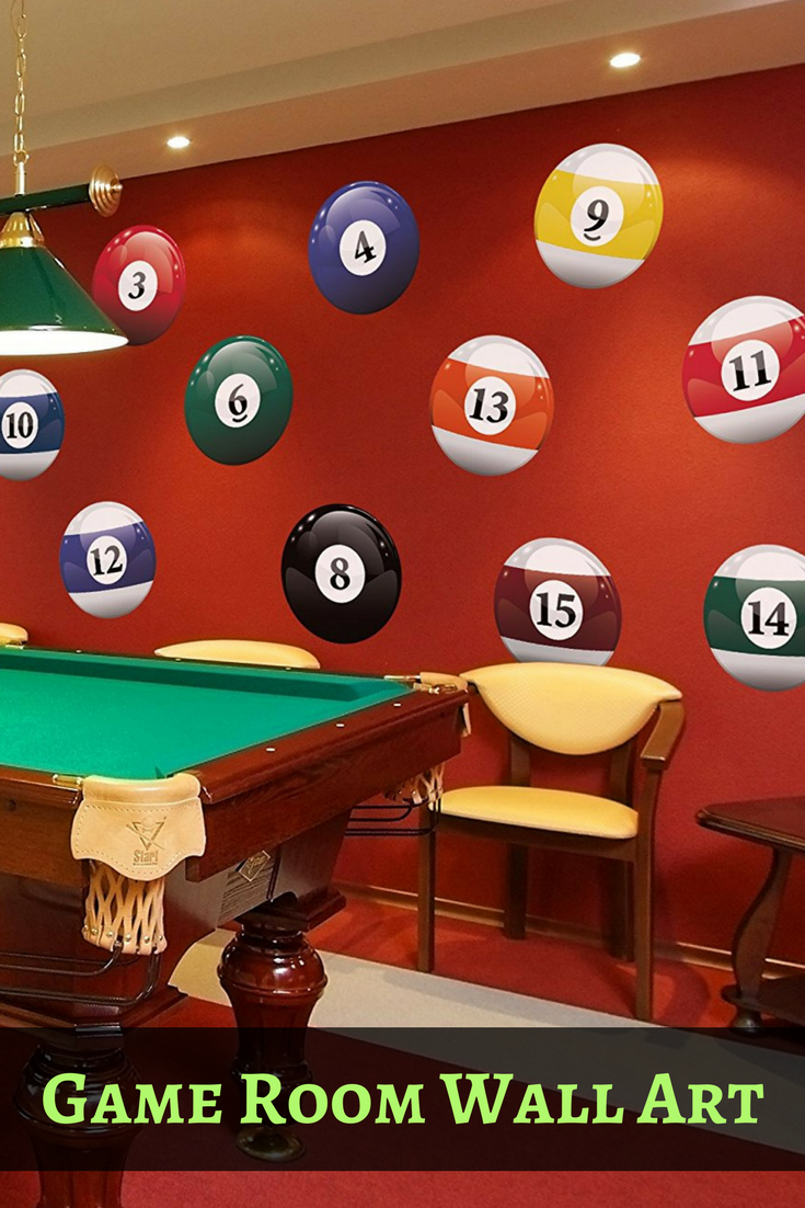 If You Love Room Wall Decor Then Billiard Art Is Right On Cue