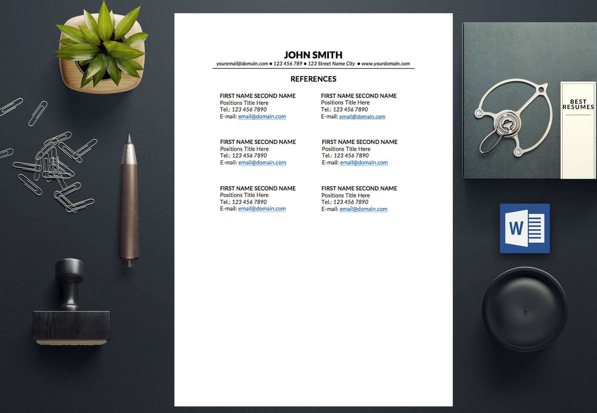 Resume Template John Smith  John Smith
